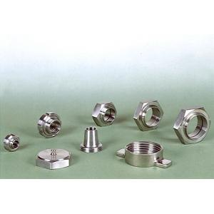 02 Sanitary Stainless Steel Unions : Bevel Seat, Nut, Male, Liner, Seal, 3A, IDF, SMS, RJT, BSM, DIN